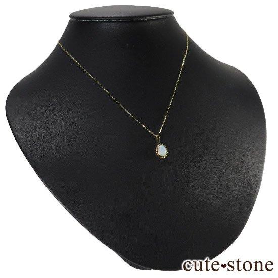 プレシャスオパールのペンダントトップ オーバルの写真4 cute stone
