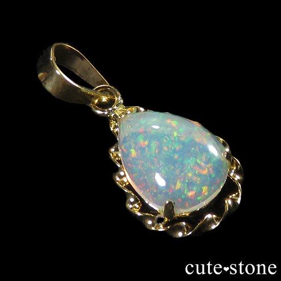 プレシャスオパールのペンダントトップ ドロップの写真1 cute stone