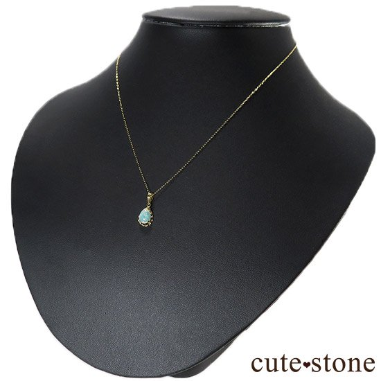 プレシャスオパールのペンダントトップ ドロップの写真3 cute stone