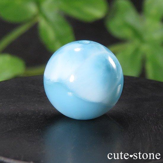 【粒売り】 ラリマー AAAA+ 9.8mmの写真0 cute stone