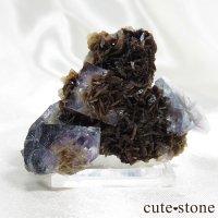 ジャメソナイトインフローライト(毛鉱入り蛍石)の画像