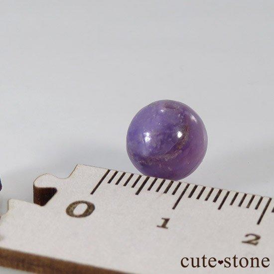 【粒売り】 ラベンダーピンクスギライト AA 10mmの写真4 cute stone