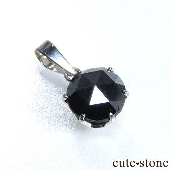 ブラックダイヤモンド 1ct プラチナ900製ペンダントトップ