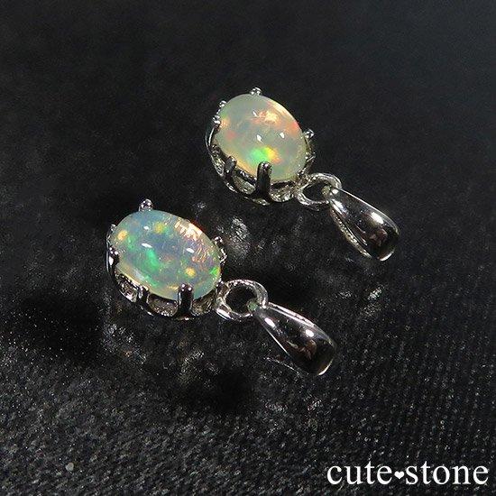 プレシャスオパールのsilver925ペンダントトップの写真0 cute stone