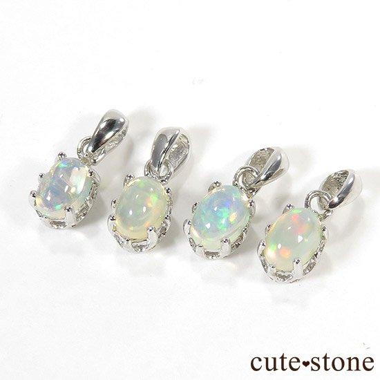 プレシャスオパールのsilver925ペンダントトップの写真2 cute stone