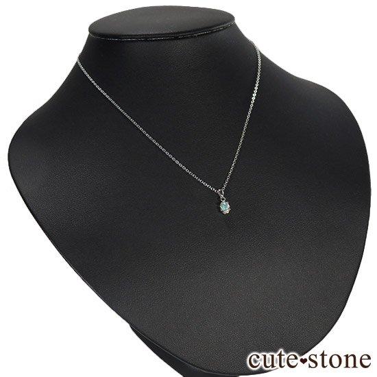 プレシャスオパールのsilver925ペンダントトップの写真5 cute stone