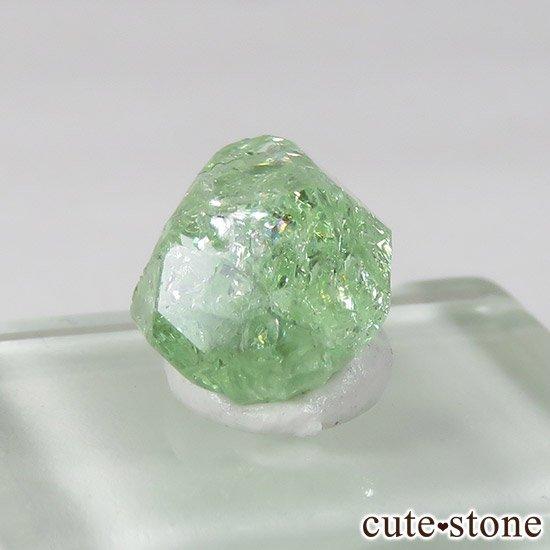 タンザニア産 ツァボライトの結晶(原石) 3.4ctの写真2 cute stone