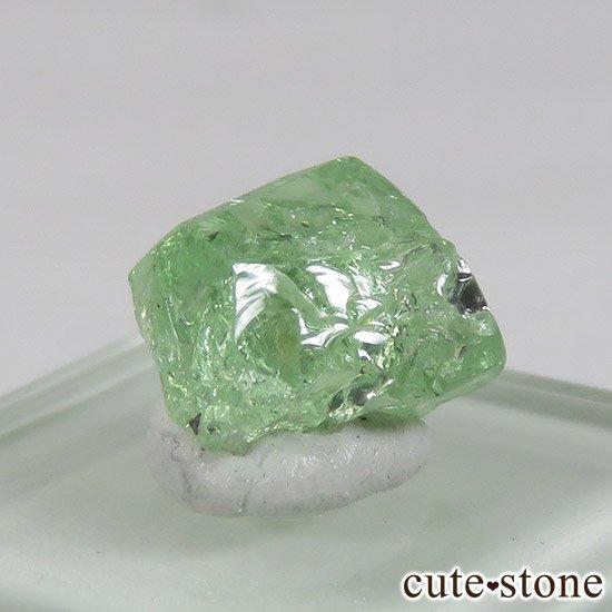 タンザニア産 ツァボライトの結晶(原石) 3.4ctの写真4 cute stone