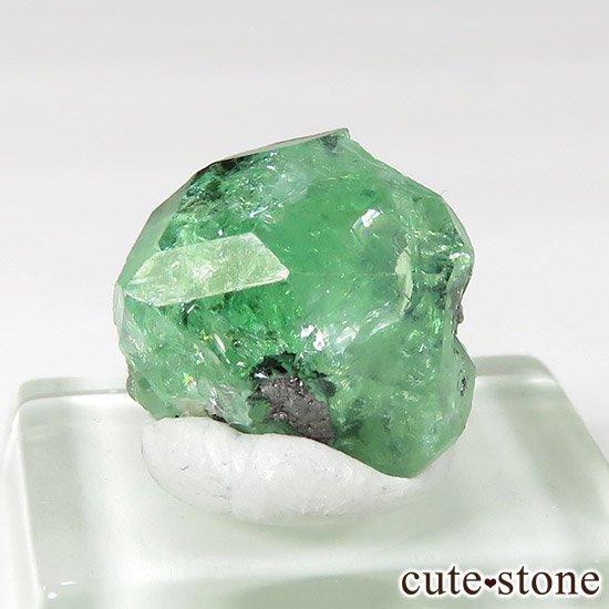 タンザニア産 ツァボライトの結晶(原石) 9.4ct