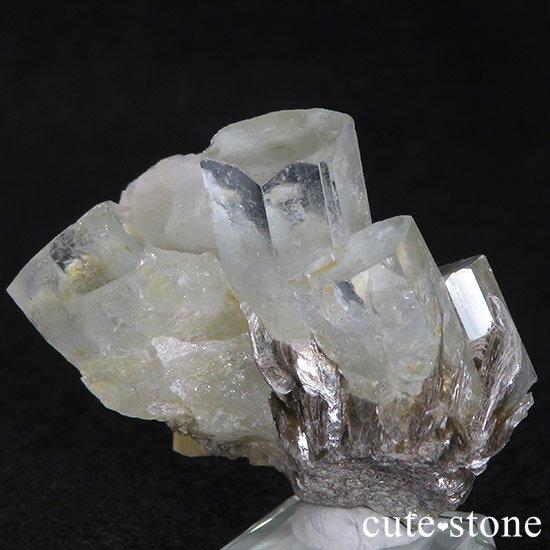 パキスタン産アクアマリン 母岩付き結晶(原石)35gの写真2 cute stone