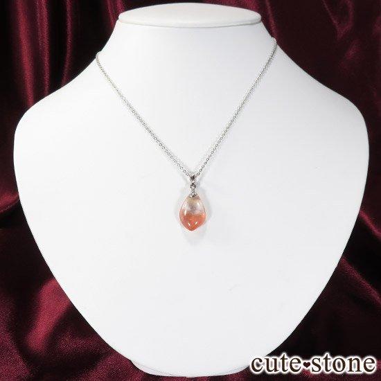 カザフスタン産ストロベリークォーツのペンダントトップ Eの写真3 cute stone