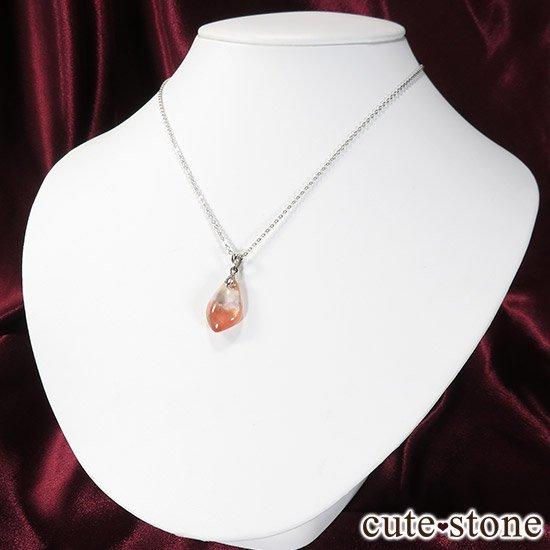 カザフスタン産ストロベリークォーツのペンダントトップ Eの写真4 cute stone