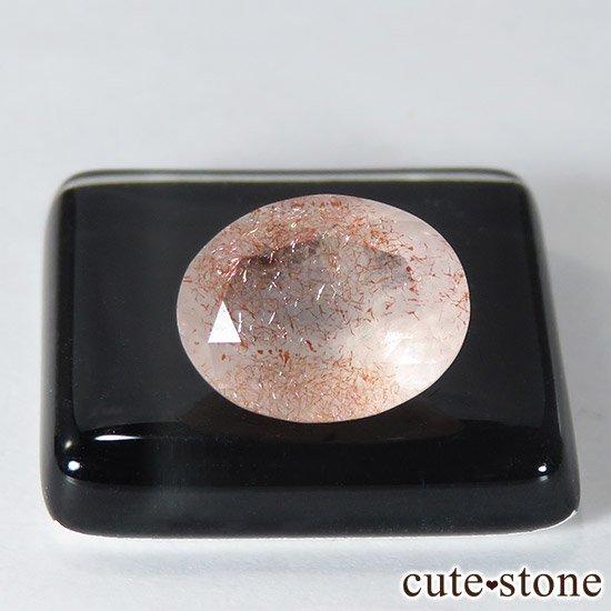 カザフスタン産 ストロベリークォーツのカットルース 2.4ctの写真0 cute stone