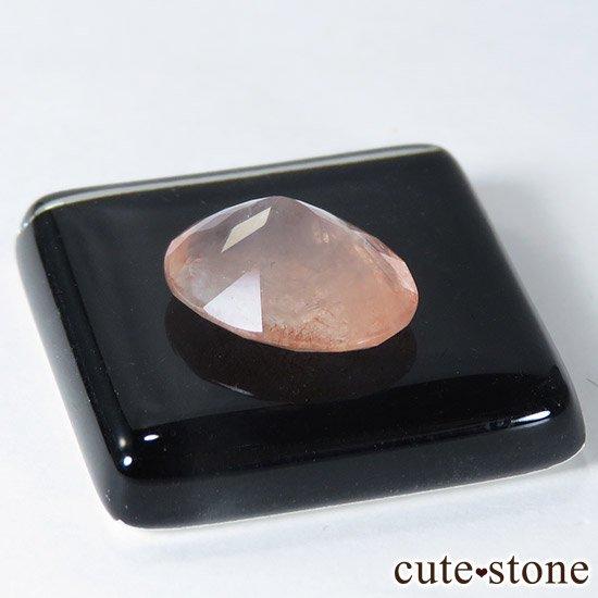 カザフスタン産 ストロベリークォーツのカットルース 2.4ctの写真1 cute stone