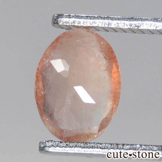 カザフスタン産 ストロベリークォーツのカットルース 2.4ctの写真3 cute stone