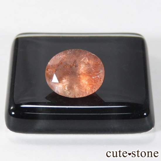 カザフスタン産 ストロベリークォーツのカットルース 1.1ctの写真0 cute stone
