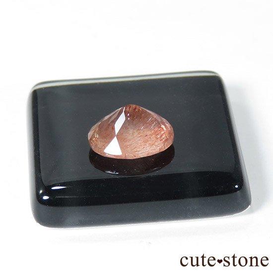 カザフスタン産 ストロベリークォーツのカットルース 1.1ctの写真5 cute stone