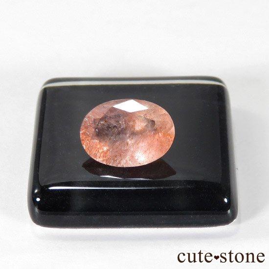 カザフスタン産 ストロベリークォーツのカットルース 1.2ctの写真0 cute stone