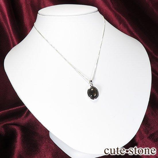 ブラックスターサファイアのペンダントトップの写真4 cute stone