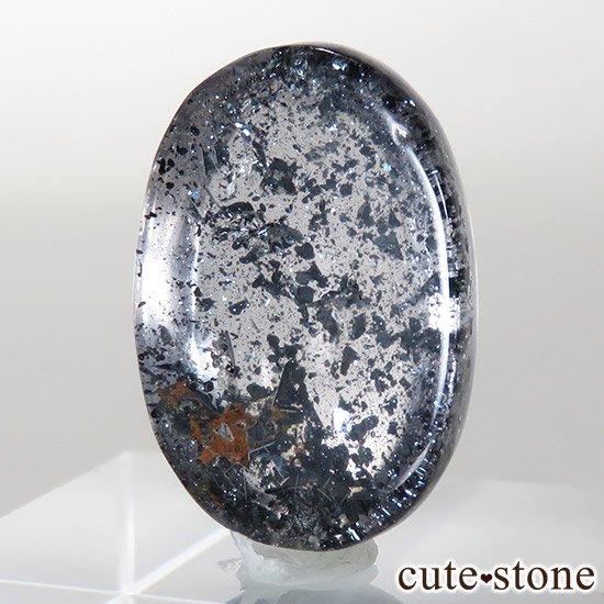 【希少】ヘマタイトインクォーツのルース 3.1gの写真2 cute stone