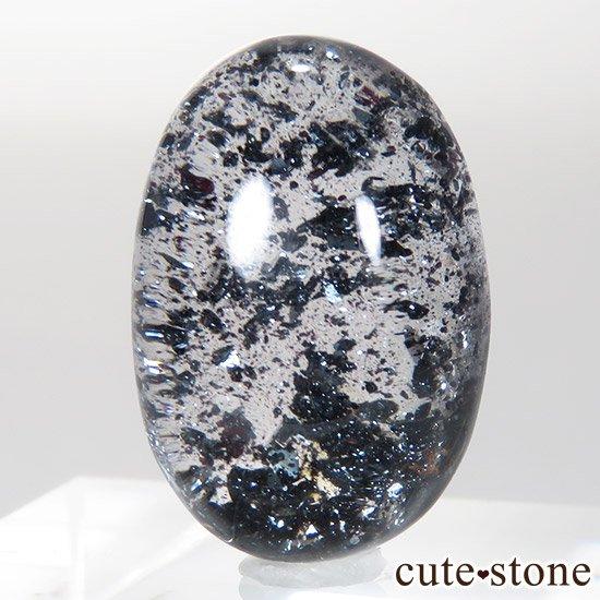【希少】ヘマタイトインクォーツのルース 3.1gの写真3 cute stone