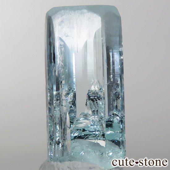 パキスタン スカルドゥ産アクアマリン 単結晶(原石)11.2ct