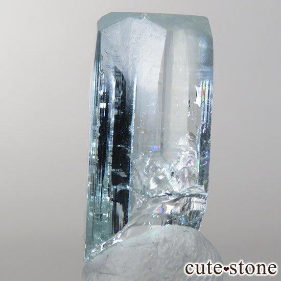 パキスタン スカルドゥ産アクアマリン 単結晶(原石)11.2ctの写真2 cute stone