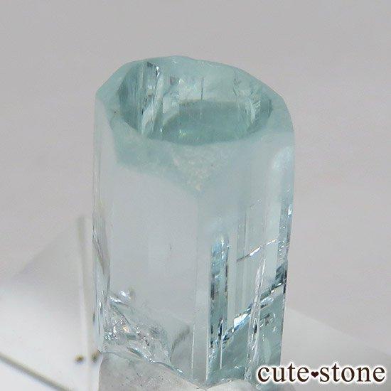 パキスタン スカルドゥ産アクアマリン 単結晶(原石)11.2ctの写真4 cute stone