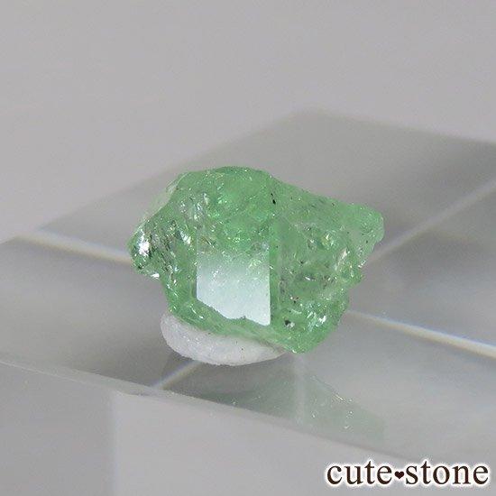 タンザニア産 ツァボライトの結晶(原石) 2ctの写真0 cute stone