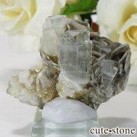 パキスタン産アクアマリン 母岩付き結晶(原石)19gの画像
