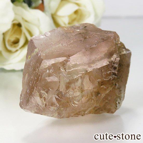 ピンクフローライト(内モンゴル産)の原石 35gの写真0 cute stone