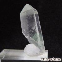 グリーンファントムクォーツ(ゴーストクォーツ)の単結晶(原石)4.7gの画像