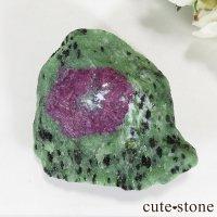 ルビーインゾイサイトの原石(タンザニア産) 86gの画像