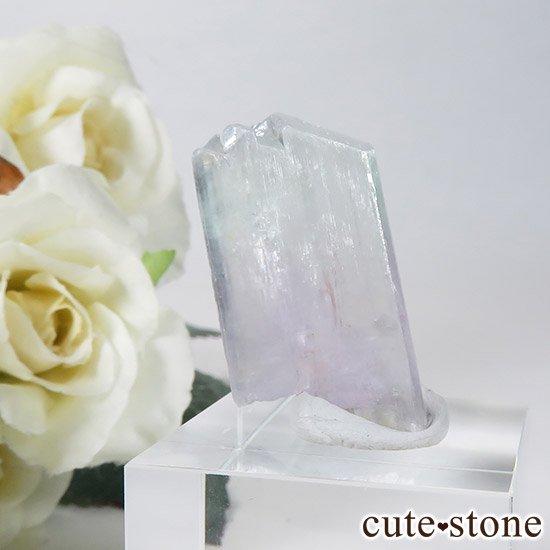 クンツァイト&ヒデナイト(スポジュメン・リチア輝石)の原石の写真5 cute stone