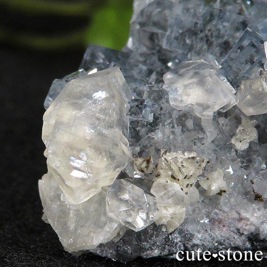 中国 湖南省産 ブルーフローライトの標本(原石)43gの写真4 cute stone