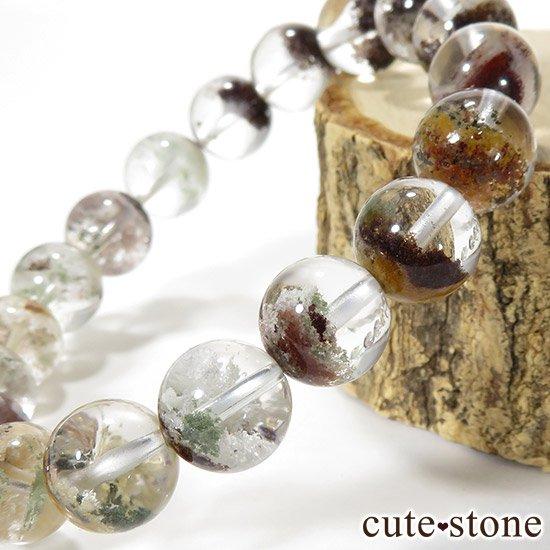 【1/2売り対象】 ガーデンクォーツ AAA++ 10.5mm ブレスレットの写真1 cute stone