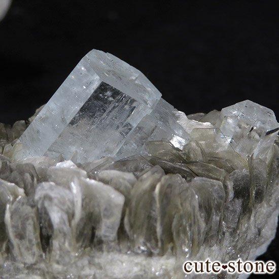 パキスタン産アクアマリン 母岩付き結晶(原石)78gの写真0 cute stone