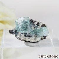 フォスフォフィライトの母岩付き結晶 Dの画像