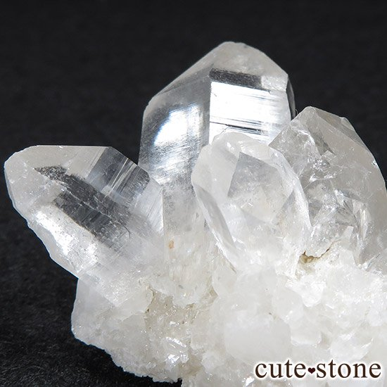 マニカラン産水晶のクラスター(ヒマラヤ水晶) 40gの写真2 cute stone
