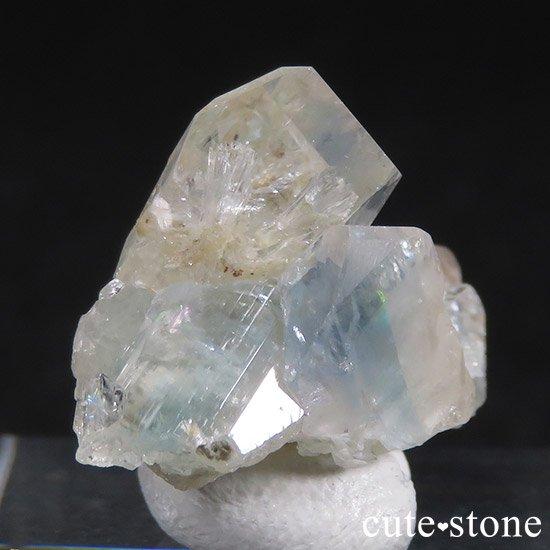 ブラジル産 ユークレースの結晶(原石・クラスター) 19.2ctの写真0 cute stone