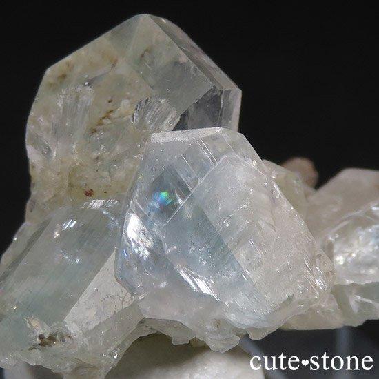 ブラジル産 ユークレースの結晶(原石・クラスター) 19.2ctの写真2 cute stone