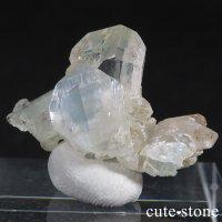ブラジル産 ユークレースの結晶(原石・クラスター) 19.2ctの画像