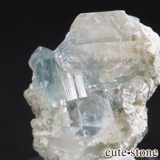 ブラジル産 ユークレースの結晶(原石・クラスター) 32.6ctの写真1 cute stone