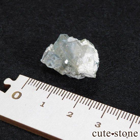 ブラジル産 ユークレースの結晶(原石・クラスター) 32.6ctの写真4 cute stone