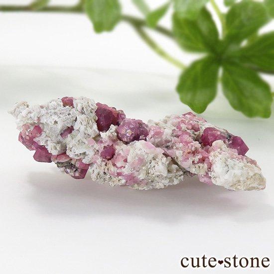ラズベリーガーネット(灰礬柘榴石)の原石(鉱物標本)25.4gの写真0 cute stone