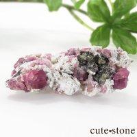 ラズベリーガーネット(灰礬柘榴石)の原石(鉱物標本)25.4gの画像