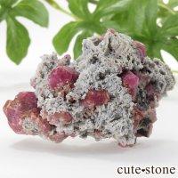 ラズベリーガーネット(灰礬柘榴石)の原石(鉱物標本)25.9gの画像