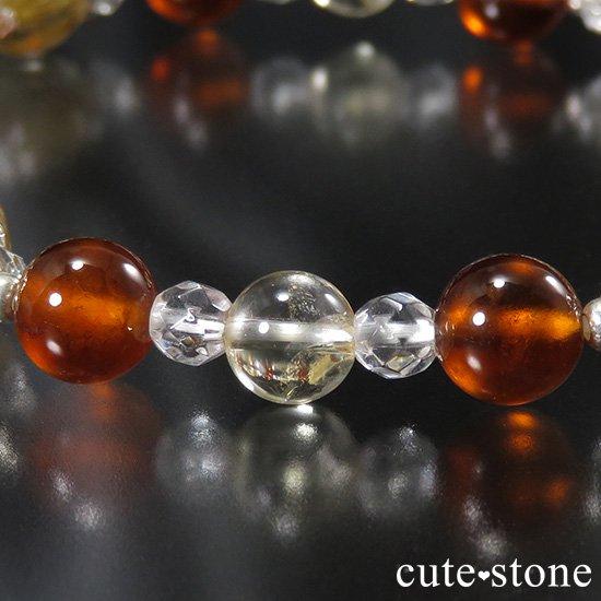 【Twilight】 ゴールドルチル ヘソナイト シトリンのブレスレットの写真5 cute stone