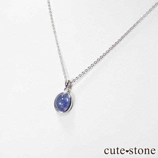 タンザナイトのsilver925製オーバル型ペンダントトップ No.1の写真2 cute stone