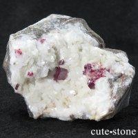 辰砂(シンシャ)シナバーの母岩付き原石 89gの画像